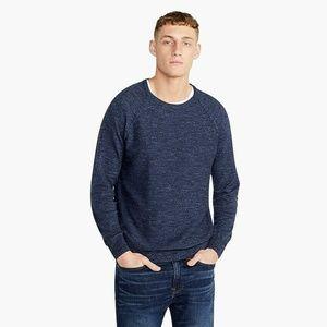 J. Crew Men's Sweater Slim Fit Rugged Blue Size L